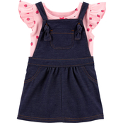 Carter's Infant Girls 2 pc. Strawberry Bodysuit and Skirtall Set