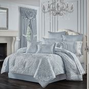 J. Queen New York Malita Powder Blue 4 pc. Comforter Set