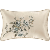 J. Queen New York Jacqueline Ivory Boudoir Decorative Throw Pillow