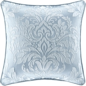 J. Queen New York Malita Powder Blue 18 in. Square Decorative Throw Pillow