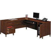 Bush Somerset L-Shaped Desk