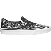 Vans Classic Bandana Print Slip On Shoes