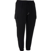 AGB Plus Size Stretch Joggers