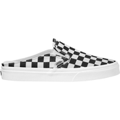 Vans Women's Checkerboard Slip On Mule Sneakers