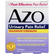 AZO Standard Urinary Pain Relief Max Strength 12 Ct.