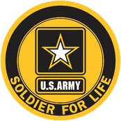 Mitchell-Proffitt Company Army Soldier for Life Decal