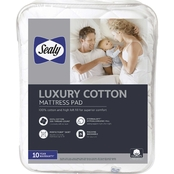 Sealy Luxury 100% Cotton Mattress Pad