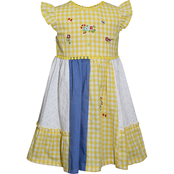 Blueberi Boulevard Infant Girls Patchwork Dress