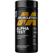 Muscletech Alpha Test 120 ct.