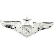 Air Force Senior Air Battle Manager Wing Badge, Pin-On