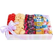 Alder Creek Mother's Day Tray of Gourmet Chocolates & Cookies