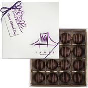 Fames Mother's Day Hazelnut Truffle Gift Boxes 3, 8 oz. each