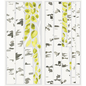 Roommates Birch Trees Giant Decals