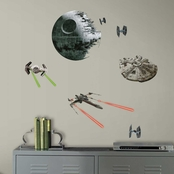 RoomMates Star Wars Classic Spaceships Decals