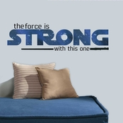 RoomMates Star Wars Classic The Force Is Strong Wall Decals