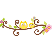 RoomMates Happi Scroll Tree Letter Branch Giant Wall Decals