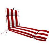 Jordan Manufacturing Outdoor 22 x 72 x 4 in. Chaise Cushion