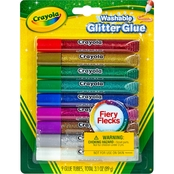 Crayola Washable Glitter Glue 9 ct.