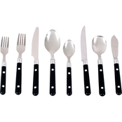 Gibson Casual Living 58 pc. Plastic Handle Flatware Set
