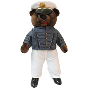 Bear Forces of America Plush Bear in the USMA West Point Uniform, 20 in. Male