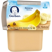 Gerber 2nd Foods Bananas 4 Oz. 2 Pk.
