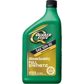 Quaker State Ultimate Durability 10W-30 Full Synthetic Motor Oil