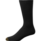 Gold Toe Men's Cotton Fluffy Socks 3 Pk.