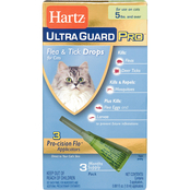 Hartz UltraGuard Pro Drops For Cats Over 5 lb.
