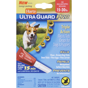 Hartz UltraGuard Pro Flea and Tick Drops for Dogs and Puppies 15 to 30 lb.