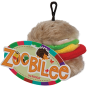 Petmate Zoobilee Plush Hamburger Dog Toy - Small