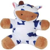 Petmate  Zoobiilee Softies Cow Dog Toy, Medium