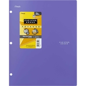 Five Star 2 Pocket Stay Put Plastic Folder and File