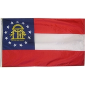 Annin Flagmakers Georgia State Flag