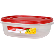 Rubbermaid Easy Find Lid 9 Cup Square Food Storage Container