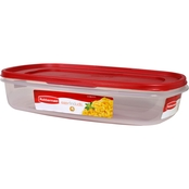 Rubbermaid 1.5 gal. Rectangle Easy Find Lids Food Storage Container