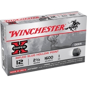 Winchester Super-X  1 Oz. 12 Ga. 2.75 In., 5 Rounds