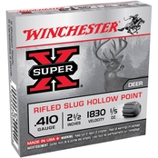 Winchester Super-X .410 Ga. 2.5 in. 0.20 oz. Rifled Slug, 5 Rounds