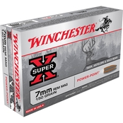 Winchester Super-X Power-Point 7mm Rem 150 Gr., 20 Rounds
