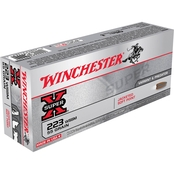 Winchester Super-X .223 WSSM 55 Gr. Jacketed Soft Point, 20 Rounds