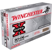 Winchester Super-X .30-06 125 Gr. Jacketed Soft Point, 20 Rounds