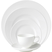 Wedgwood White 5 Pc. Place Setting