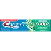 Crest Complete Whitening Plus Scope Multi Benefit Minty Fresh Striped Toothpaste