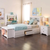 Prepac Monterey Twin Mate's Platform Storage Bed