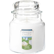 Yankee Candle Clean Cotton Medium Classic Jar Candle