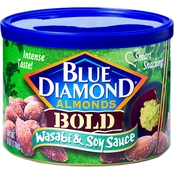 Blue Diamond Almonds Wasabi and Soy Sauce 6 Oz. Can