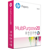 HP Multipurpose Paper, 20 Lb., 8.5 X 11 In., 96 Brightness, 500 Sheets