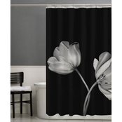 Maytex Tulip PEVA Shower Curtain