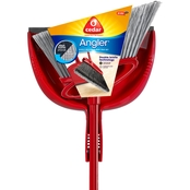 O-Cedar Angler Broom with Dustpan
