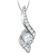Sirena 14K White Gold 1/2 CTW Diamond Pendant