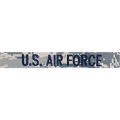 Air Force Label Embroidered Digital, Sew-On (ABU)